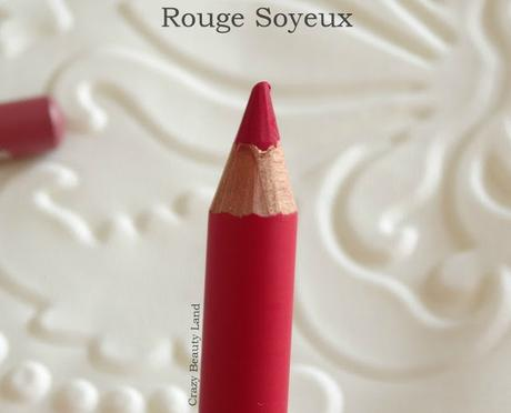 Bourjois Levres Contour Lip Liners Enjoleuse (11) and Rouge Soyeux (20) Review, Swatches, Price in India