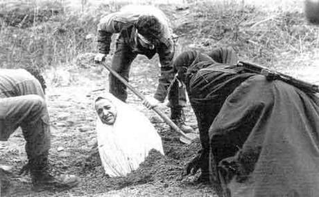 Under Islamic Sharia law, adultery is punishable by death by stoning