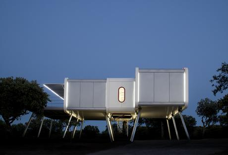 Spaceship prefab in Spain