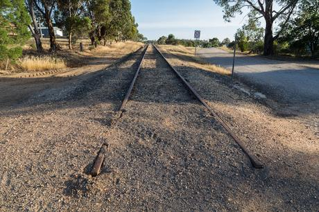 disused train line castlemaine