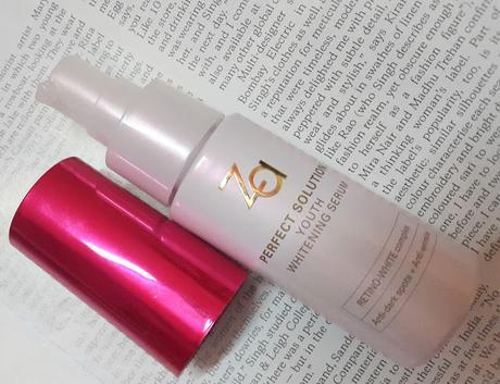 Za Perfect Solution Youth Whitening Serum - Review, Photos, Before and After