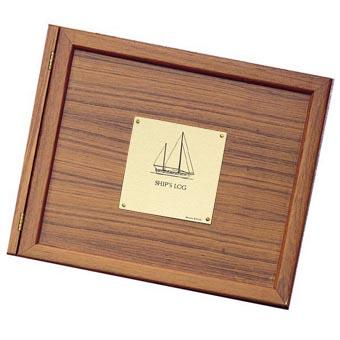 Weems and Plath Teak Log Cover, Sailboat Plate - 299