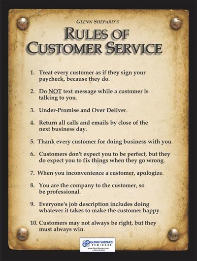 A Lesson in Customer Service for Marcy's Diner