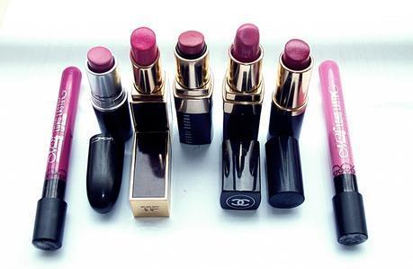 Beauty: My Favorite Pink Lipsticks