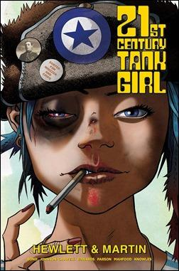 21st Century Tank Girl Collection Cover