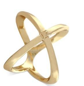 x gold ring