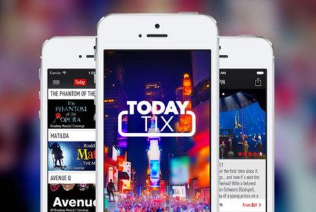 Buy tickets for London West End shows up to one hour before show time with TodayTix App