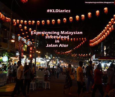 Night view in Jalan Alor