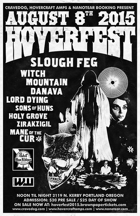 HOVERFEST 2015: Slough Feg, Witch Mountain, Danava, Lord Dying, Sons Of Huns, Holy Grove & More To Play Second Annual Festival Of Amps, Riffs & Motorcycles