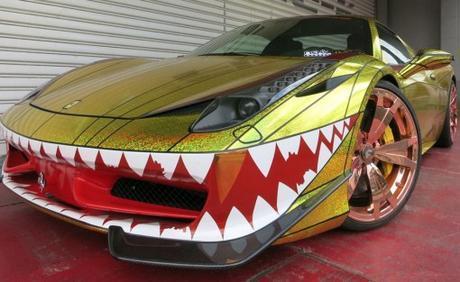 Top 10 Weird and Unusual Ferrari Paint Jobs