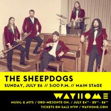 The Sheepdogs WayHome 2015