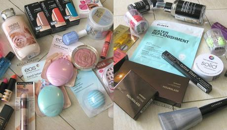 My U.S Cosmetic Shopping Haul