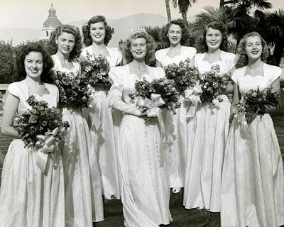 Maybelline's 1947 Queen of the Tournament of Roses, Norma Christopher, a real California Girl.