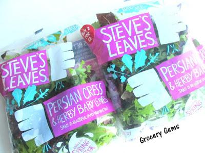 Review: Steve's Leaves - Persian Cress & Herby Baby Leaves