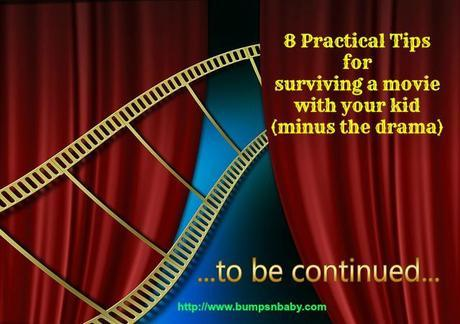 8 Practical Tips for Surviving a Movie with your Kid (minus the drama)