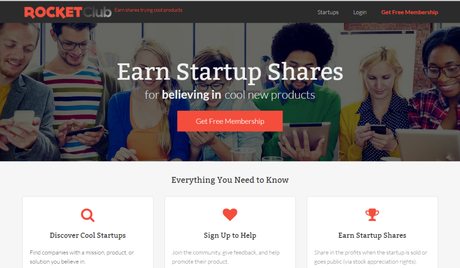 Erik Chan CEO of RocketClub: Earn Shares Trying Cool Products