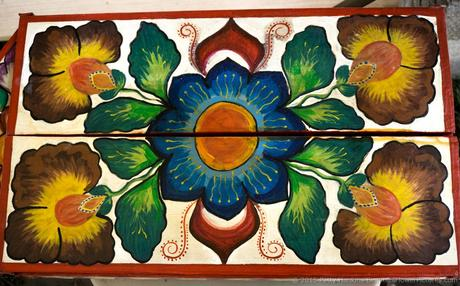 Painted Wood Box, 2015 Smithsonian Folklife Festival © 2015 Patty Hankins