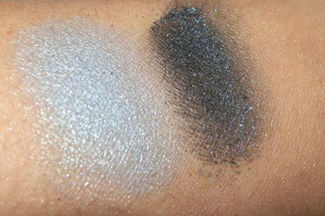 The Body Shop Baked To Last Eye Shadow Sapphire Swatches & Review