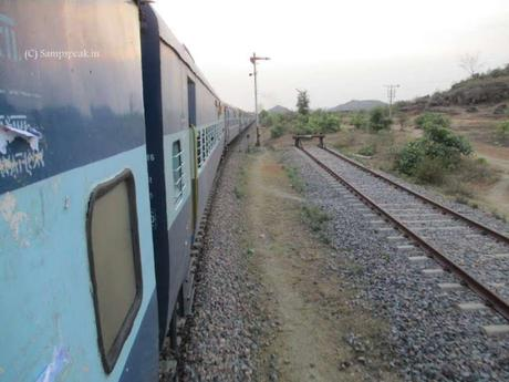 when a Train ran backwards .... reverse gear in train ??