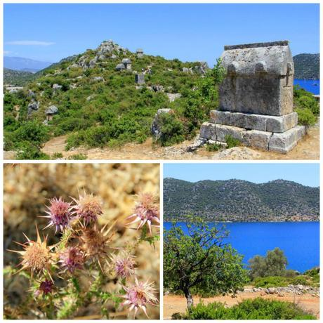 Lycian Tombs, Kekova Turkey