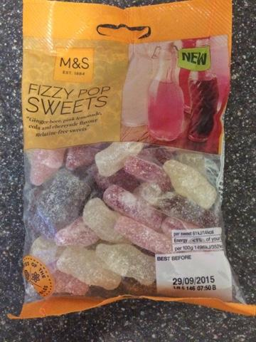 Today's Review: Marks & Spencer Fizzy Pop Sweets