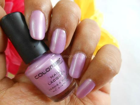Colorbar Pro Mini Nail Lacquer : Lilac Silk