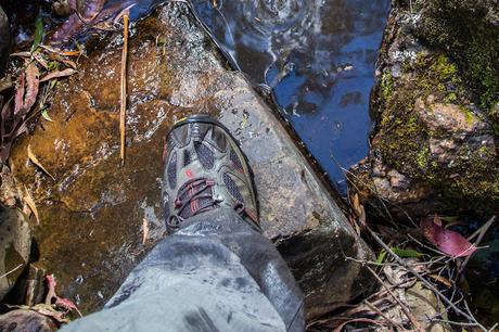 wet shoe yankee creek