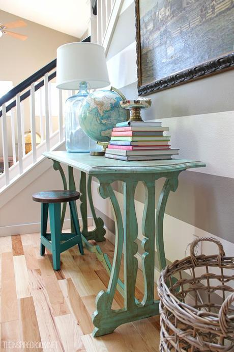 How to get inspired for decorating when you are in a slump! :-) And get inspired by some cute flea market furniture!