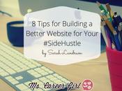Tips Building Better Website Your #SideHustle