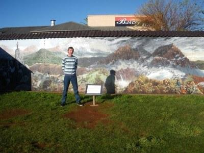 Undoubtedly the gem of Australia - touring the wall murals of Sheffield in Tasmania.