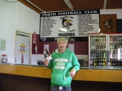 At Forth Football Club - home of the Magpies