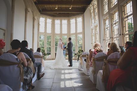 Highcliffe Castle Wedding Room