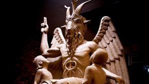 Detroit satan statue