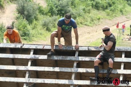 spartan race, wall climb