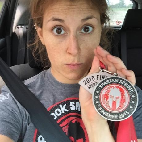 Spartan Race, Spartan Sprint, Finisher's Medal