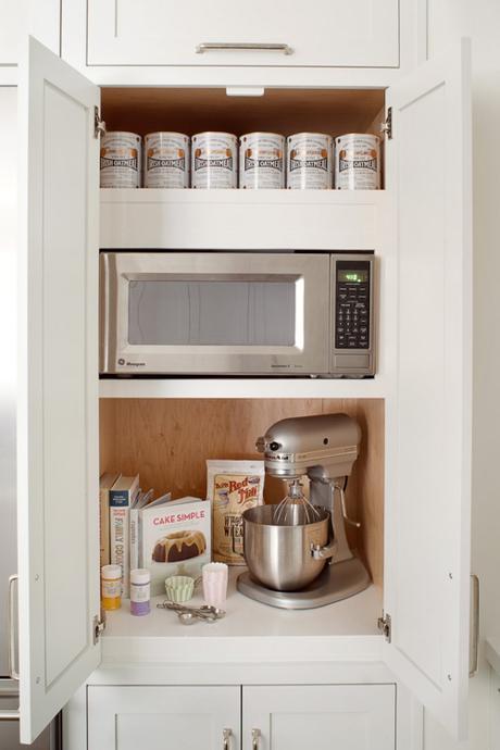 Appliance Garage Kitchen Modern