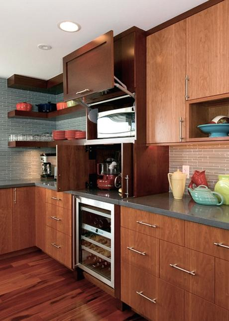 Montage 24 Kitchens With Built In Hidden Microwaves