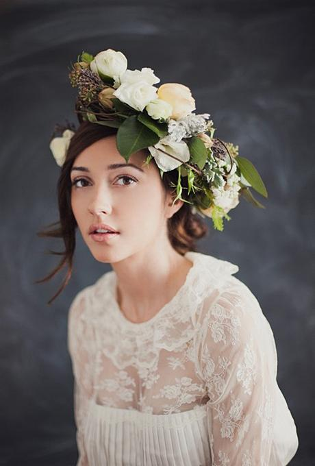 Go Boho for Spring with a Floral Crown