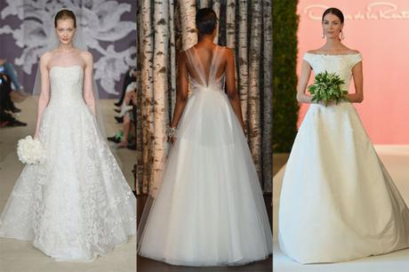 Top Wedding Dress Trends of 2015