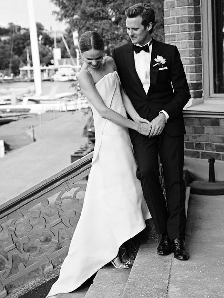 Elin Kling Ties The Knot In A Chic Balenciaga Wedding Dress