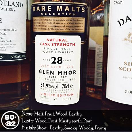 1976 Glen Mohr 28 years Rare Malts Review