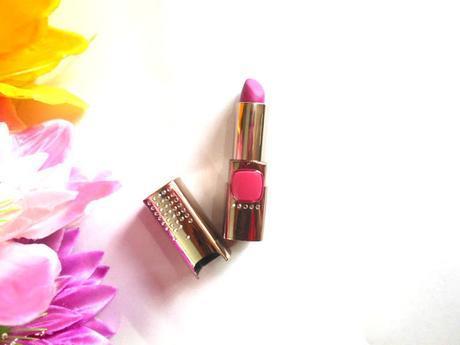 L'Oreal Paris Color Riche Moist Matte Limited Edition Swarovski Lipstick Glamor Fuchsia : Review
