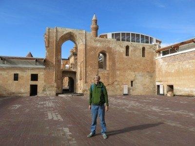 Touring Ishak Pasha Palace