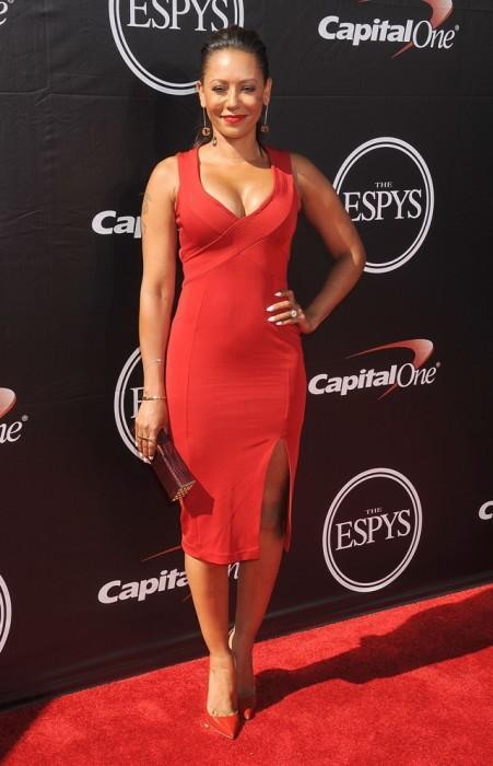 Melanie-Brown-2015-ESPY-Awards-Red-Dress