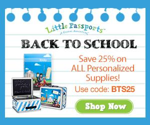 Enjoy 25% Off Back to School Supplies from Little Passports!