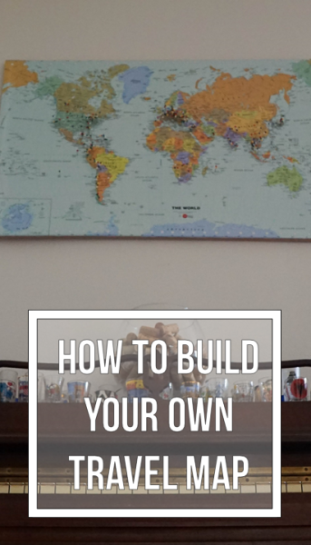 Building a Travel Home: DIY Travel Pin Map
