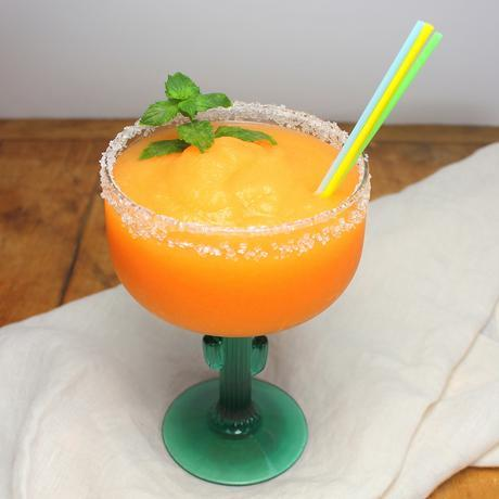 Cantaloupe Margaritas for #Sunday Supper