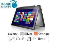 Lenovo - Yoga 2 Pro 59428037 Silver Gray 13.3
