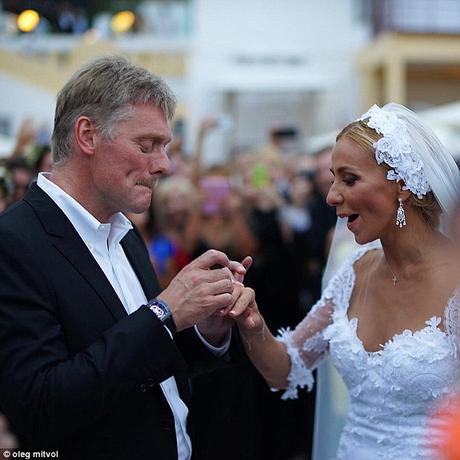 Dmitry Peskov married Tatyana Navka .... and the costly watch hits news !!