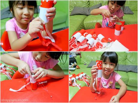 Creativity 521 #74 - DIY National Day wind chimes